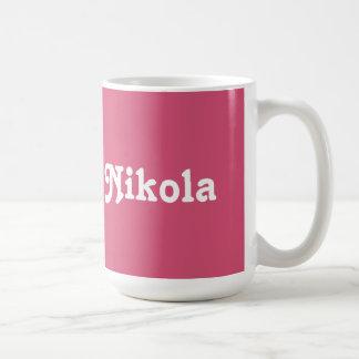 マグNikola コーヒーマグカップ