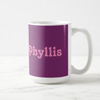 マグPhyllis コーヒーマグカップ