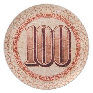 マケドニアのお金 プレート