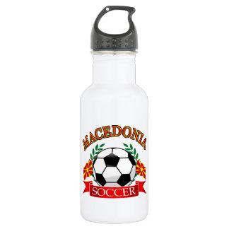 マケドニアのサッカーボールのデザイン ウォーターボトル