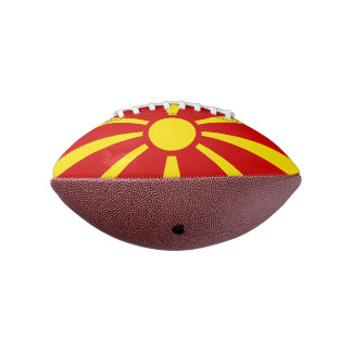 マケドニアの小型フットボールの旗 アメリカンフットボール