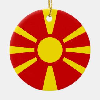 マケドニアの旗 セラミックオーナメント