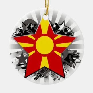 マケドニアの星 セラミックオーナメント