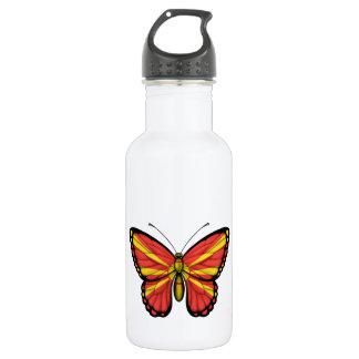 マケドニアの蝶旗 ウォーターボトル