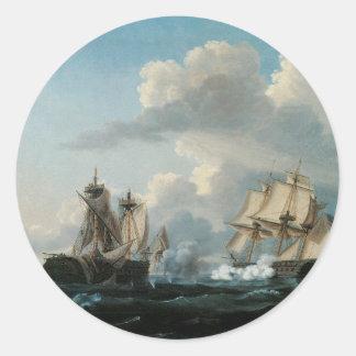マケドニア人および米国1812年 ラウンドシール