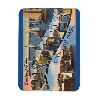 マサチューセッツのケープコッド、Harwichportの磁石 マグネット