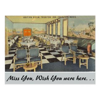 マサチューセッツのハイチ部屋、Taunton ポストカード