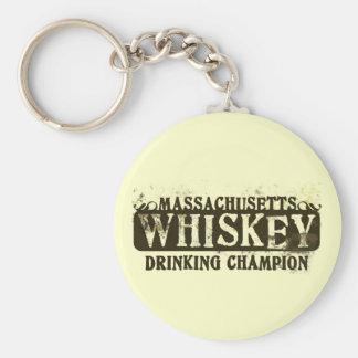 マサチューセッツウィスキーの飲むチャンピオン キーホルダー