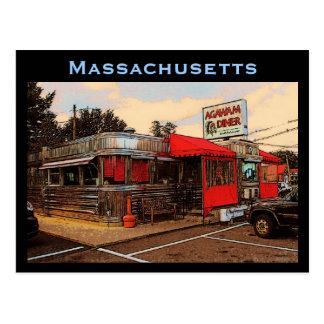 マサチューセッツダイナーの郵便はがき ポストカード