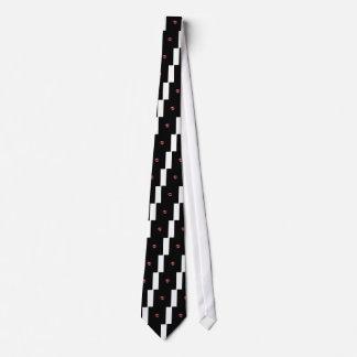 マサチューセッツ州のための蝋燭のハートのデザイン オリジナルネクタイ