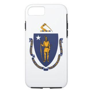 マサチューセッツ州の旗のデザイン iPhone 8/7ケース