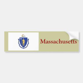 マサチューセッツ州の旗 バンパーステッカー