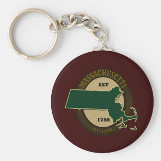 マサチューセッツ米国東部標準時刻1788年 キーホルダー