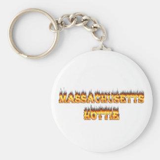 マサチューセッツhottieの火および炎 キーホルダー