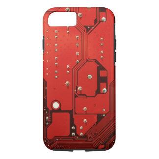 マザーボード赤いVibeのiPhone 7の箱 iPhone 8/7ケース