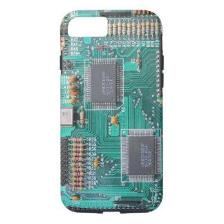 マザーボード: コンピュータ論理板写真 iPhone 8/7ケース