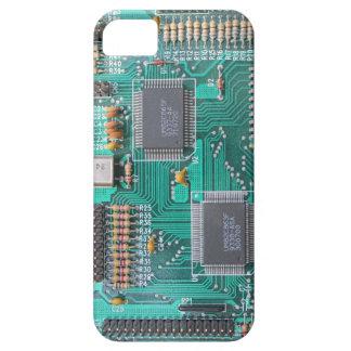 マザーボード: プリント基板の写真 iPhone SE/5/5s ケース