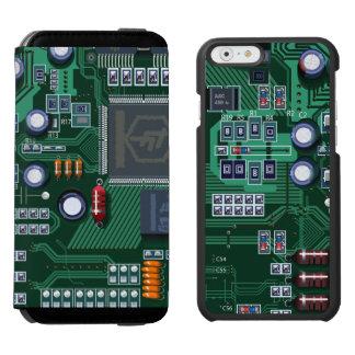 マザーボード iPhone 6/6Sウォレットケース
