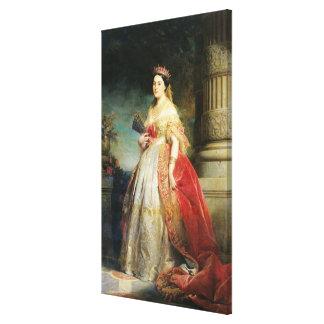 マシルドLaetitia Wilhelmine Bonaparte 1861年 キャンバスプリント