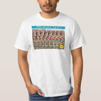 """マジック・アイの® 3Dの""""ポーカーフェース""""のTシャツ Tシャツ"""