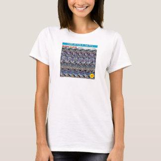 """マジック・アイの® 3Dの""""不快感""""のTシャツ Tシャツ"""