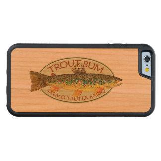 マスのつまらない漁師 CarvedチェリーiPhone 6バンパーケース
