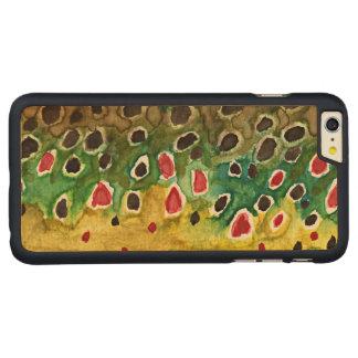 マスの漁師 CarvedメープルiPhone 6 PLUS スリムケース