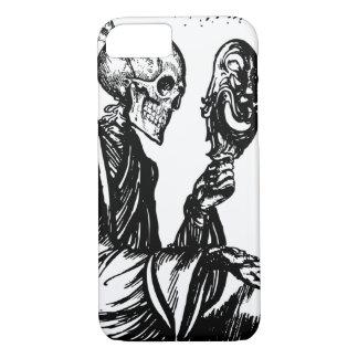 マスクを持つ骨組死神 iPhone 8/7ケース