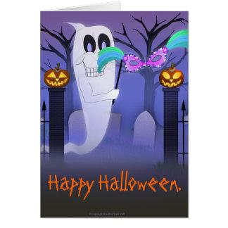 マスクカードを持つ幽霊 カード