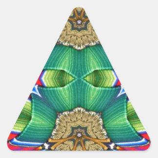 マスクパターン 三角形シール