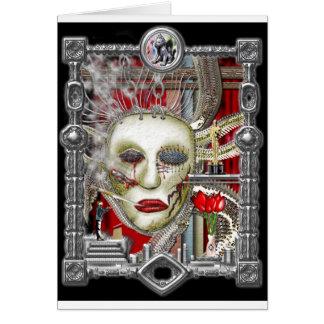 マスク グリーティングカード