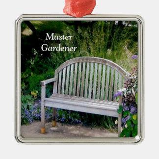 マスターの庭師のオーナメント メタルオーナメント