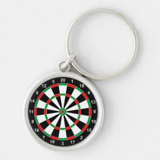 マスターの投げ矢板基本的な円形ターゲットクラシックのゲーム キーホルダー