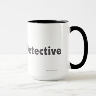 マスターの探偵の黒 マグカップ