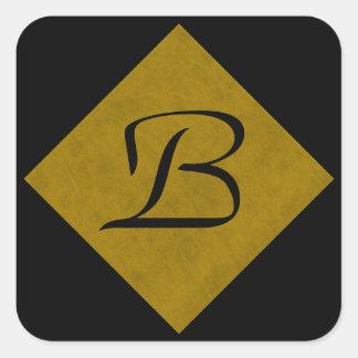 マスタードの黄色いビロードの名前入りな家のカジノ スクエアシール