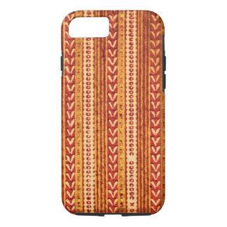 マスタードのBohoの種族の矢の素朴なボヘミアのジプシー iPhone 8/7ケース