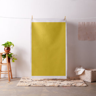 マスタードまたは硫黄の黄色い無地 ファブリック