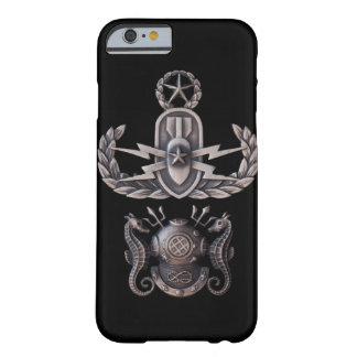 マスターEODのマスターのダイバー BARELY THERE iPhone 6 ケース