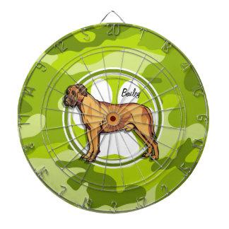 マスティフ; 若草色の迷彩柄、カムフラージュ ダーツボード