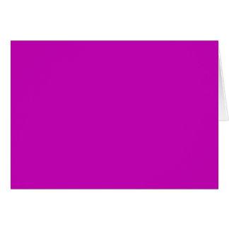 マゼンタのピンクのカッコいいの無地だけOSCB34 カード