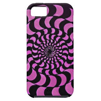 マゼンタのフラクタル iPhone SE/5/5s ケース