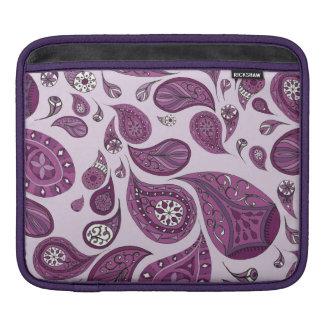 マゼンタの涙のiPadの袖 iPadスリーブ