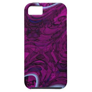 マゼンタの災害の抽象芸術 Case-Mate iPhone 5 ケース
