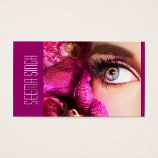 マゼンタの目の花 名刺