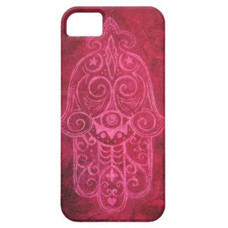 マゼンタのHamsa iPhone 5 Cover