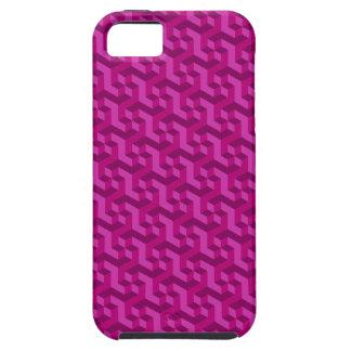 マゼンタ3D iPhone 5の箱 iPhone 5 Case-Mate ケース