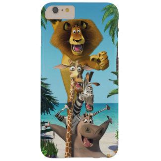 マダガスカルの友人サポート BARELY THERE iPhone 6 PLUS ケース