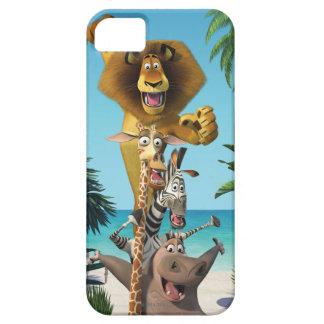 マダガスカルの友人サポート iPhone SE/5/5s ケース