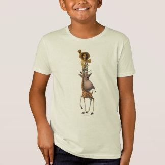 マダガスカルの友人サポート Tシャツ