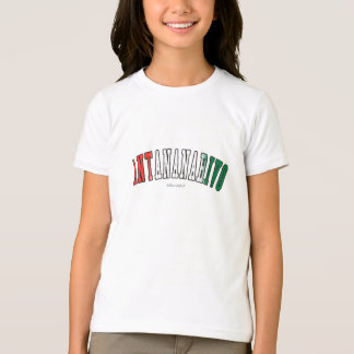 マダガスカルの国旗色のアンタナナリボ Tシャツ